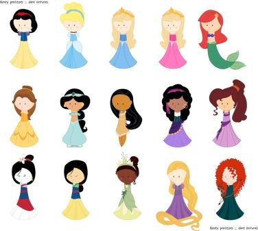 Princesas Disney Disney Princesses Aline Antunes